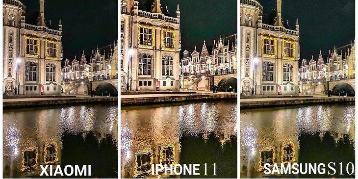 Сравним ночные кадры трех популярных телефонов