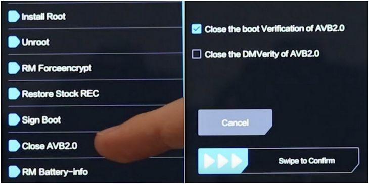 Ищем Close AVB2.0 и активируем его