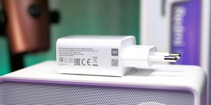 Сяоми комплектует телефон быстрой зарядкой на 18 ВТ